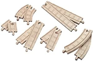 Thomas And Friends Wooden Railway - Straight And Curved Expansion Pack