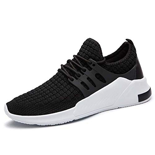 9124f9b9b7dc Wander G Men s Running Sneakers Ultra Lightweight Flyknit Shoes Breathable  Fashion Casual Athletic Shoes for Walking