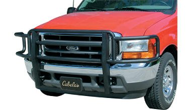 Go Industries Black Powder-Coat Big Tex Grille (Go Industries Black Powder)