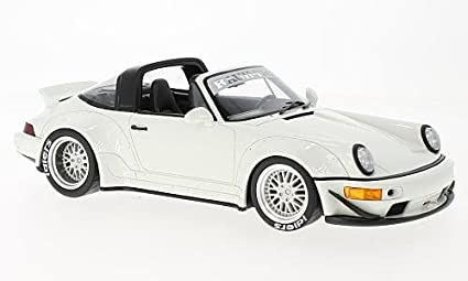 Porsche 911 (964) Targa RWB, white, 0, Model Car, Ready