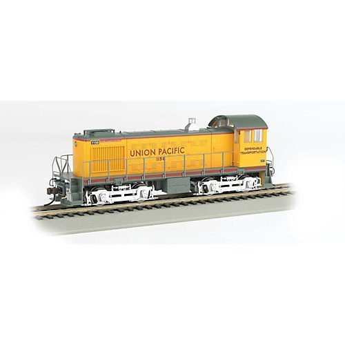 Bachmann Union Pacific 1156 - Dependable Transportation HO Scale Alco S4 Diesel Locomotive - DCC Sound Value On Board