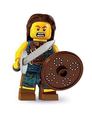 Lego Minifigures Series 6 - Highland Battler