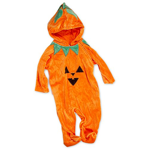 Pumpkin Costume Baby Infant Toddler Plush