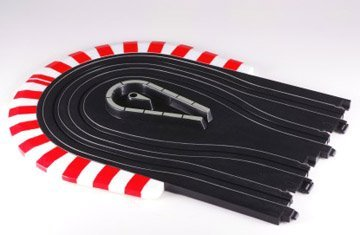 AFX 3  Hair-Pin Curve HO Scale Slot Car Track 70614