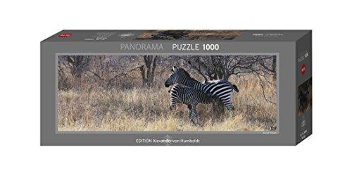 Heye Feeding 1000 Piece Panoramic Zebra Jigsaw Puzzle