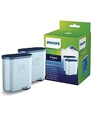 Philips Kalk- en waterfilter AquaClean - Geschikt voor Philips Espresso machines met Aquaclean functie - Verlengt Levensduur van je espressomachine - 2 stuks - CA6903/23