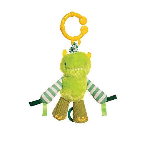 Manhattan Toy Beastie Boo Boogie Baby Teether & Rattle Stroller Toy]()