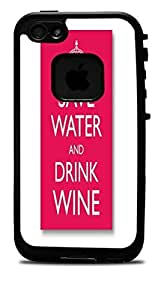 """Save Water Drink Wine Vinyl Decal Sticker for iPhone 6 (4.7"""") Lifeproof Case by icecream design"""