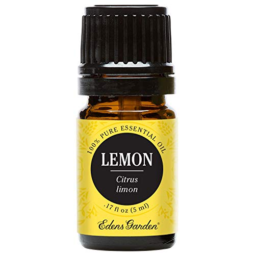 Edens Garden Lemon 5 ml 100% Pure Undiluted Therapeutic Grade Essential Oil GC/MS Tested