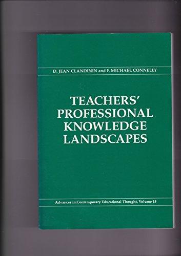 Teachers' Professional Knowledge Landscapes