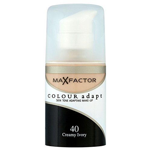 3 x Max Factor, Colour Adapt Foundation, 34ml, 40 Creamy Ivo