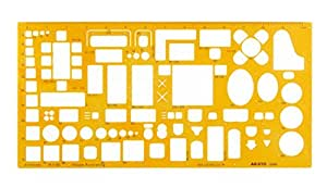 Aristo AR5063 - Plantilla con formas geométricas (para bricolaje de interiores)