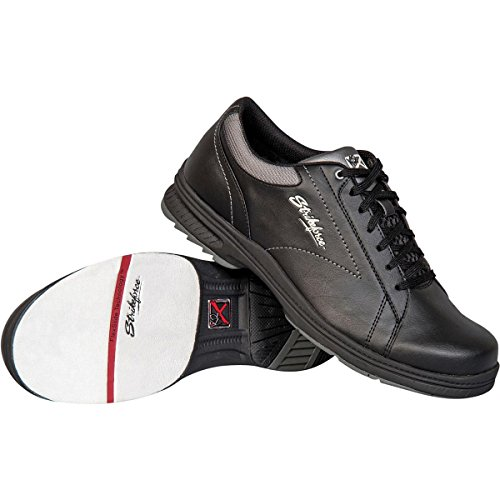 KR Strikeforce M-041-095 Knight Bowling Shoes, Black, Size (Left Hand Bowling Shoes)