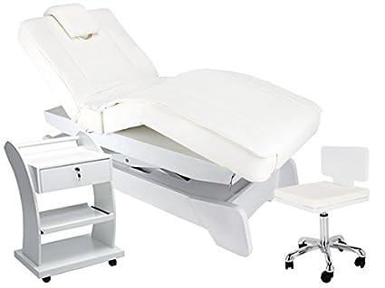 Lettino Da Massaggio Elettrico.Cabina Lettino Da Massaggio Professionali Terapia Tabelle Per