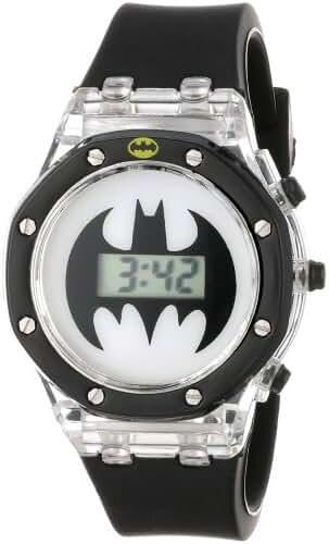 Batman Kids' BAT4034 Digital Display Quartz Black Watch