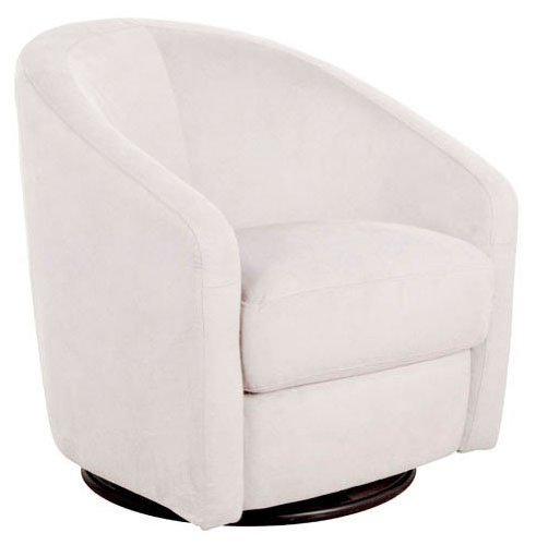 babyletto Madison Swivel Glider, - Ecru Upholstery