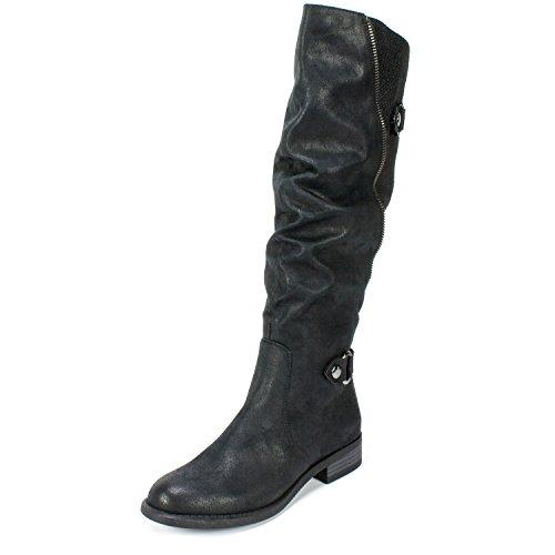 (WHITE MOUNTAIN 'LETO' Women's Boot, Black - 6 M)