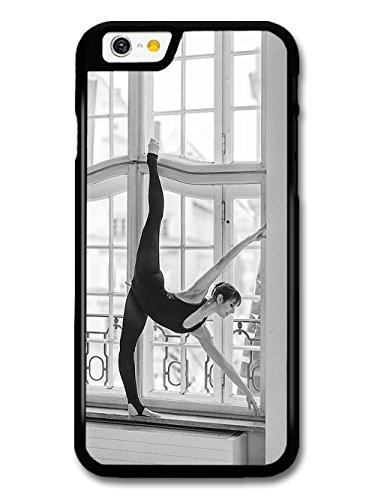 Ballet Dancer on Window in Paris Dance Girl Black Swan coque pour iPhone 6 6S