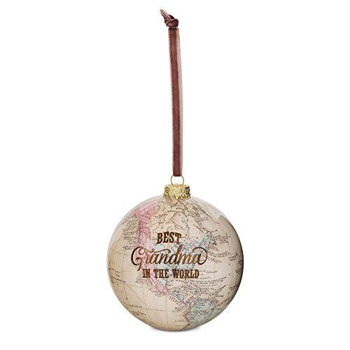 Pavilion Gift Company 61019 Grandma Globe Ornament 33/4quot