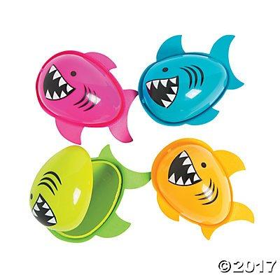 Shark Easter Eggs - 12 ct