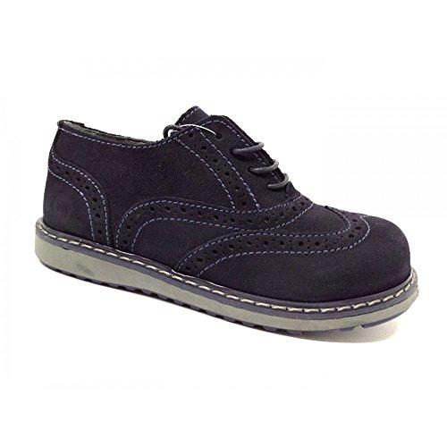 Melania , Jungen Sneaker Braun Leder, Braun - Leder - Größe: 30