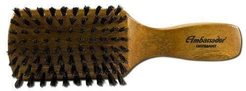 Ambassador Hairbrushes (By Faller) Beechwood Men's 5125 by - Mall Beechwood