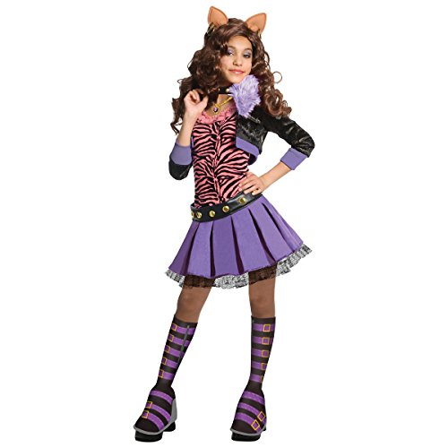 Deluxe Clawdeen Wolf Kids Costume -