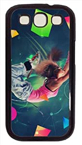 dance move Protective PC Hard Material Case Cover for Iphone Samsung galaxy s4 i9500