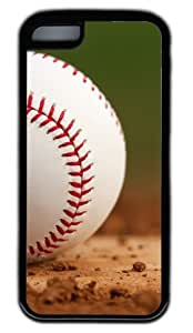 Baseball At The Training Ground DIY Rubber Black iphone 5C Case Perfect By Custom Service hjbrhga1544