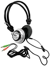 TopOne Multimedia Stereo Headphone Mic Volume Pyle PHPMC2 Home Theater