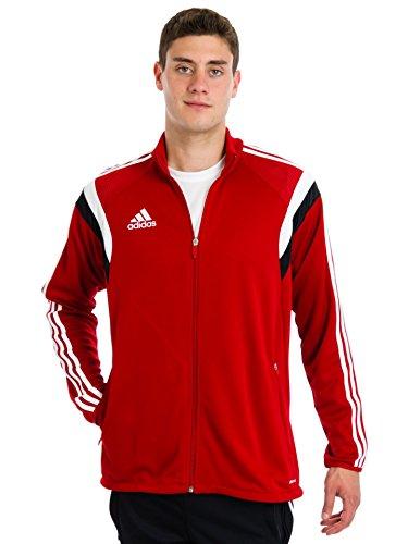 Adidas Mens Condivo 14 Training Jacket (University Red/White/Black/X-Large)