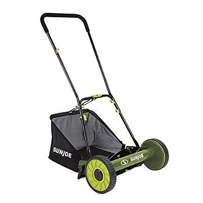 "Sun Joe MJ502M-RM Mow Joe 20"" Manual Reel Mower with Catcher"