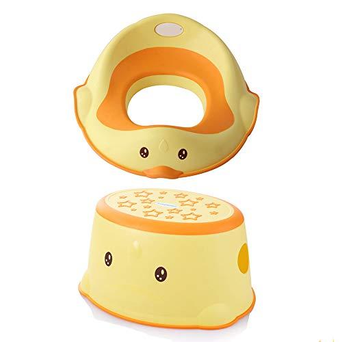 YANHTSO Anillo del Inodoro para niños Baño del Inodoro Bebé Inodoro portátil cómodo Inodoro Simple para bebé Inodoro +...