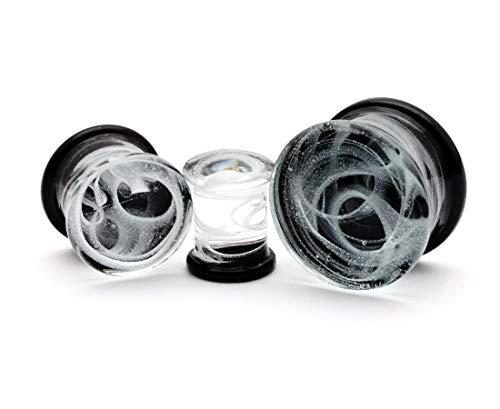 glass plugs 19mm - 9