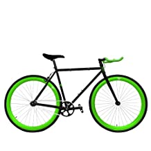 Zycle Fix ZF-GRMO-55 Green Monster Fixed Gear Bike, 55cm/One Size Frame