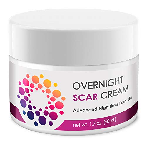 ACTIVSCIENCE Scar Cream for Face Men & Women Stretch Marks Moisturizer 1.7 oz