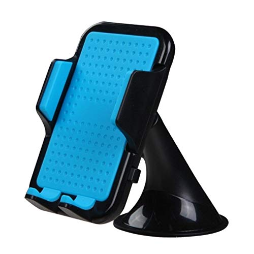 Insten Pressure Absorbing Car Desktop Cell Phone Holder Mount Cradle (Width: 2 to 4.7 Inch) Multiple Viewing Angle Universal Compatible with Smartphone iPhone X 8 7 6 Plus SE 5S 5 GPS