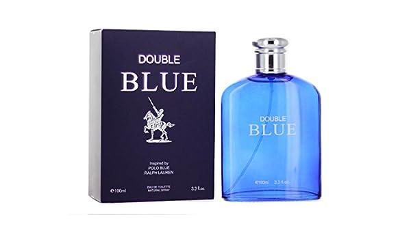 Double Blue 3.3 Ounces Eau de Toilette Spray by Royal Fragrance ...