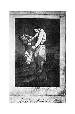 Music Poster Francisco de Goya - Hunting for Teeth c. 1797/98 Print 61x91.5cm