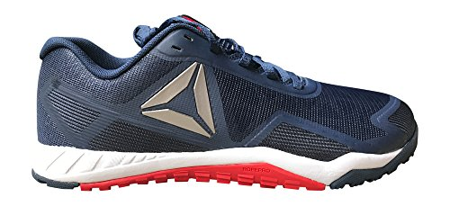 Reebok Mens Ros Workout Tr 2.0 Cross-trainer Shoe Navy / Rosso / Bianco