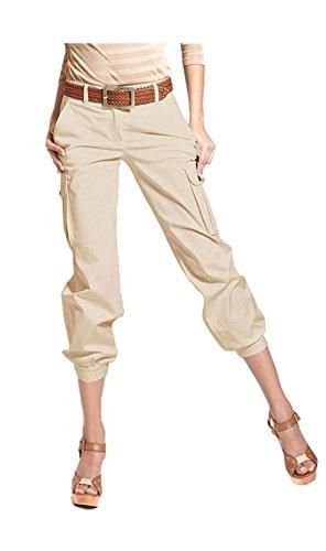 APART Fashion - Pantalón - cargo - Opaco - para mujer Masilla