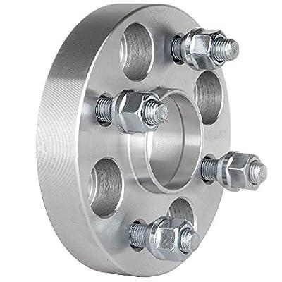 OCPTY Replacement Parts Compatible with 4 Lug Hub Centric Wheel Spacers 1 inch 2X 4x100 12x1.5 54.1MM for Mazda Miata Scion xA xB Toyota Echo MR2 Spyder: Automotive