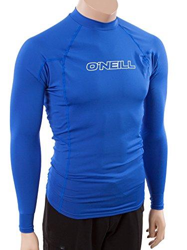 O'Neill Wetsuits  Men's Basic Skins UPF 50+ Long Sleeve Rash - Swim Austin Gear