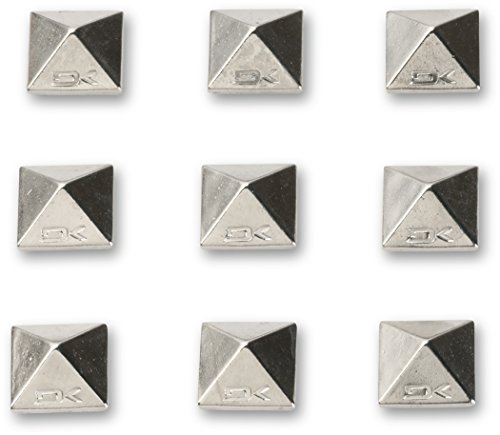 (Dakine Pyramid Studs Stomp Pad, Chrome)