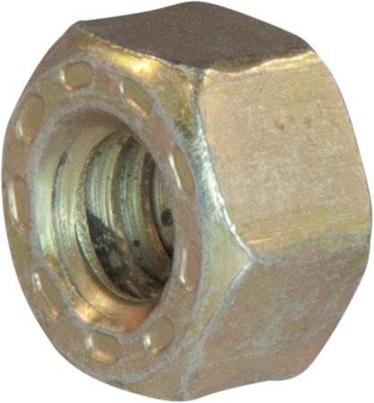 3/4-16 L9 Hex Nut Alloy Cadmium Yellow and Wax Coated Domestic USA (300) by Brighton-Best