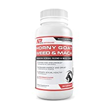 Premium Horny Goat Weed with MACA - Natural Strength & Libido Booster - Energy Enhancer