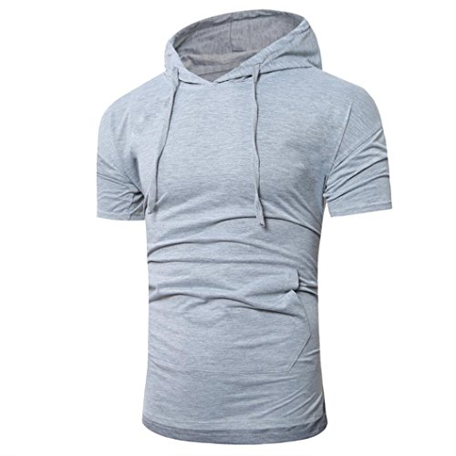 Men Summer Top Shirt,Todaies,Men Summer Fashion Hooded Pullover Men's Short-sleeved T-shirt 2018 (M, (Polo Sport Type)