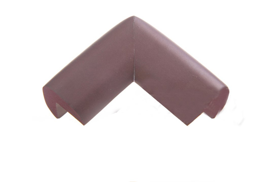 Gaorui 8 pcs Corne?r Cushion Guard Glass Table Edge cover Softener Bumper Baby Safety Protector - Brown