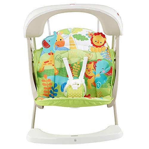 Fisher-Price - Columpio hamaca portable 2 en 1, para bebé recién ...