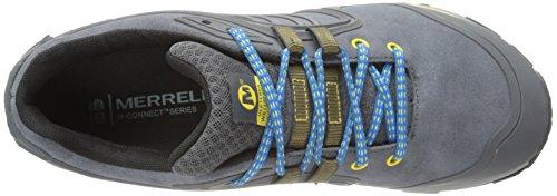 Merrell Mens Verterra Scarpe Da Trekking Impermeabili Castello Rock / Giallo